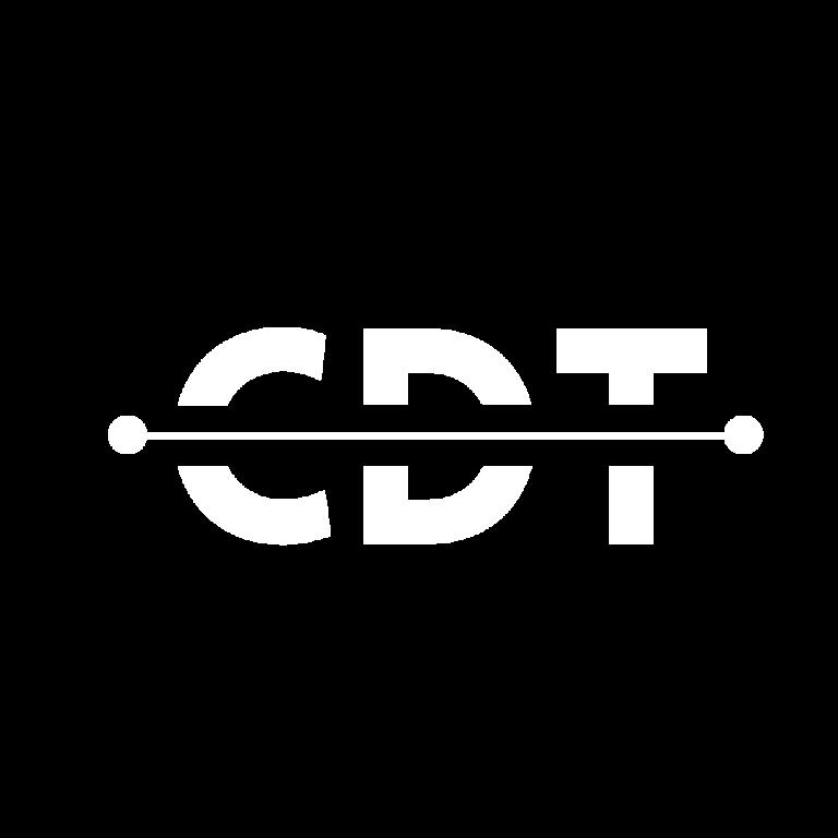 Creative Digital Tower white logo